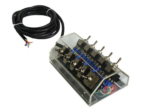 10 Switch Air Suspension Pre-Wired Switchbox - clear Air Suspension on three switches one light diagram, switch box assembly, switch box wire diagram for 10, switch box cover, 3 wire switch diagram, ab switch diagram, combination double switch diagram, 3-way switch diagram, switch box electrical, switch box installation, switch box dimensions, light switch diagram,