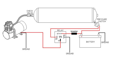 airbag suspension relay wire diagrams grizzly 600 wiring
